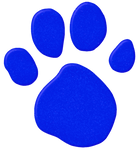 Blue's Paw Print (New)