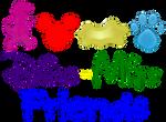 Dino-Mite Friends Logo