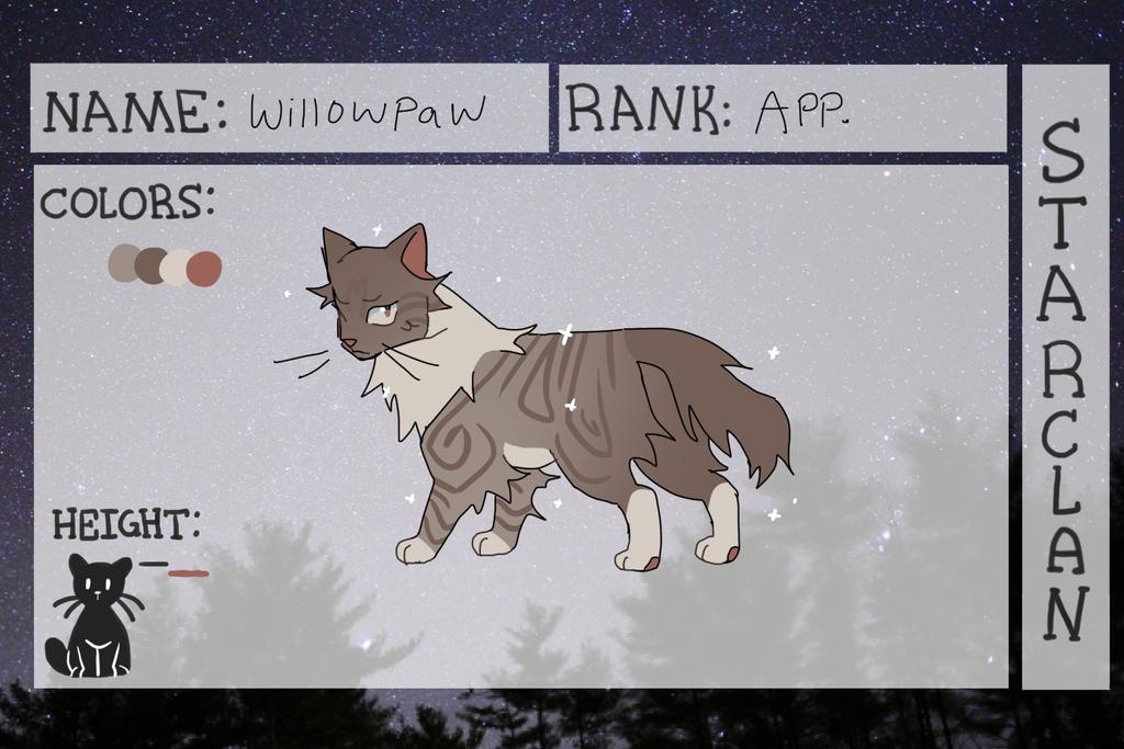 [COTB] Willowpaw NPC by gardenslug