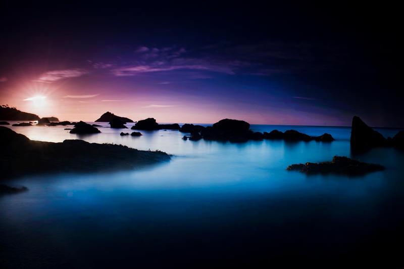 meadfoot sunrise by scott-leeson