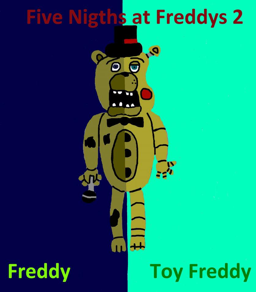 Fnaf 2 freddy toy freddy by ninja legendario on deviantart