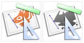 Sodipodi and Inkscape Icons