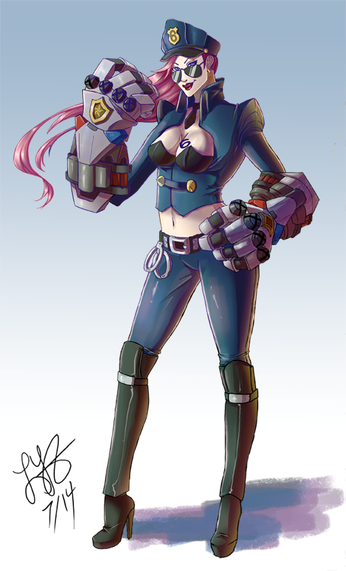Officer Vi by zhaoly on DeviantArt