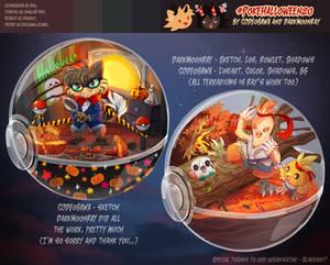   Poke-Halloween flashmob COLLAB TERRARIUMS  