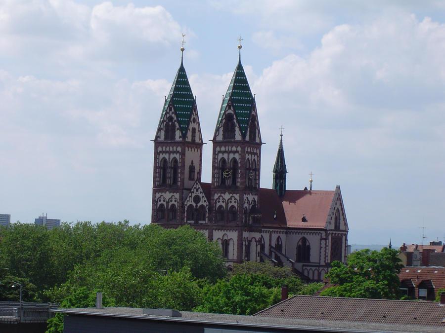 Kirche in Freiburg by Arminius1871 on deviantART