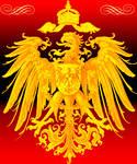 Imperial eagle golden