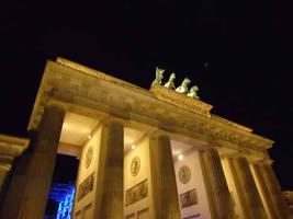 Brandenburger Tor at night by Arminius1871
