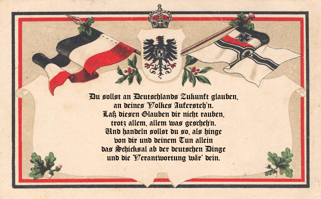 German responsibility by Arminius1871