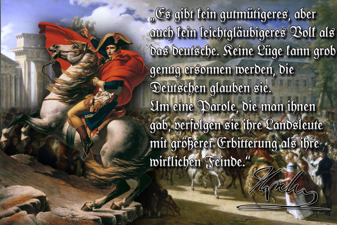 Main news thread - conflicts, terrorism, crisis from around the globe - Page 4 Napoleon_about_the_germans_by_arminius1871-d7zah47