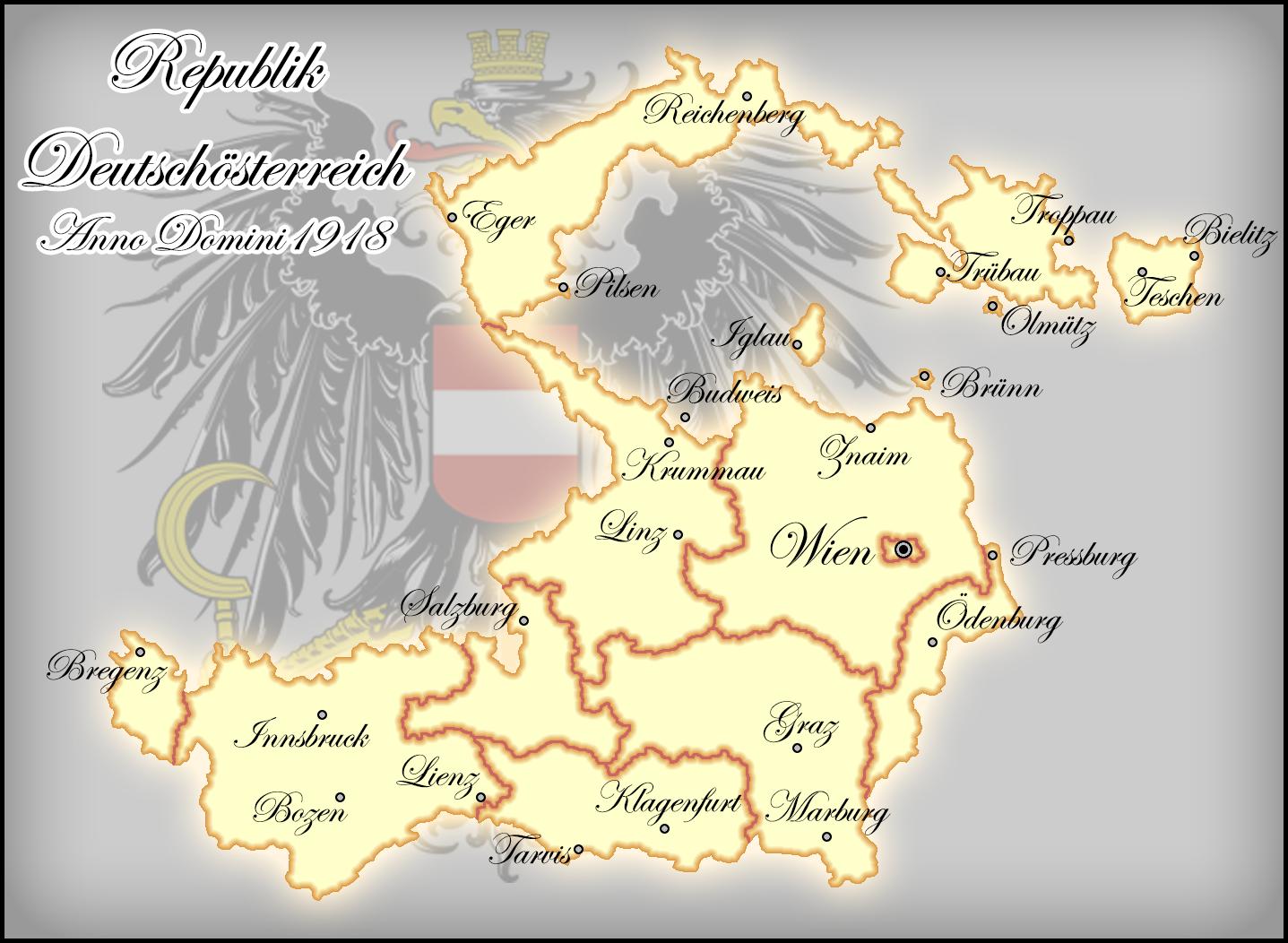 Republic German Austria 1918