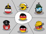 Countryball german stereotypes