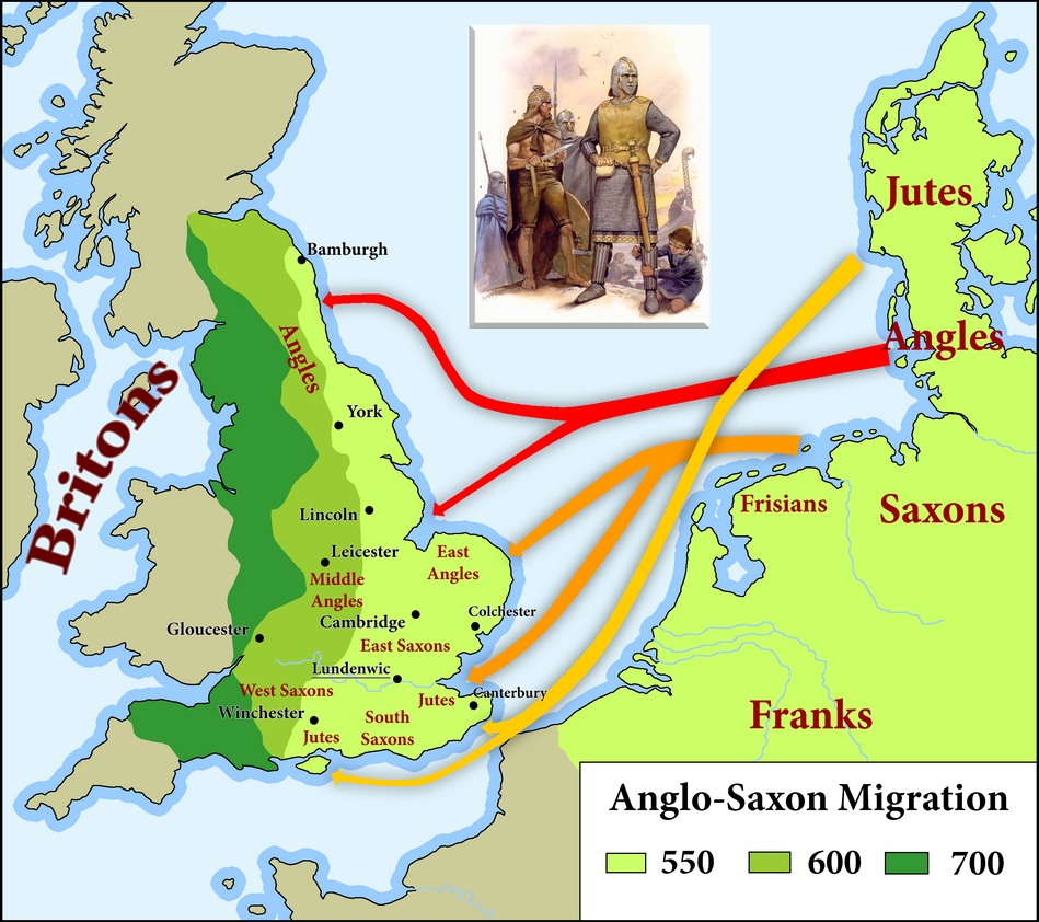 Anglo saxons time period