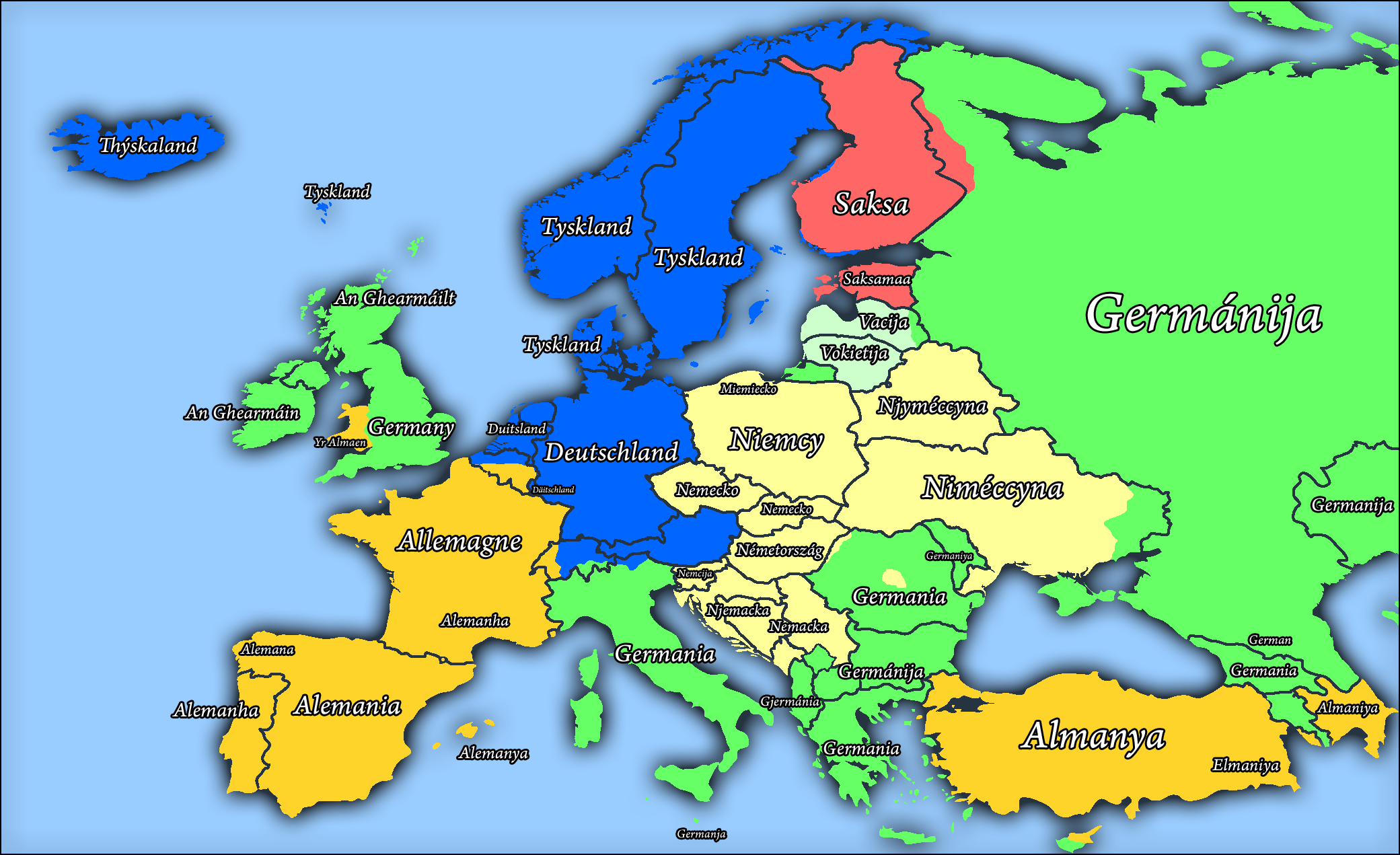 the many names of germany by arminius1871