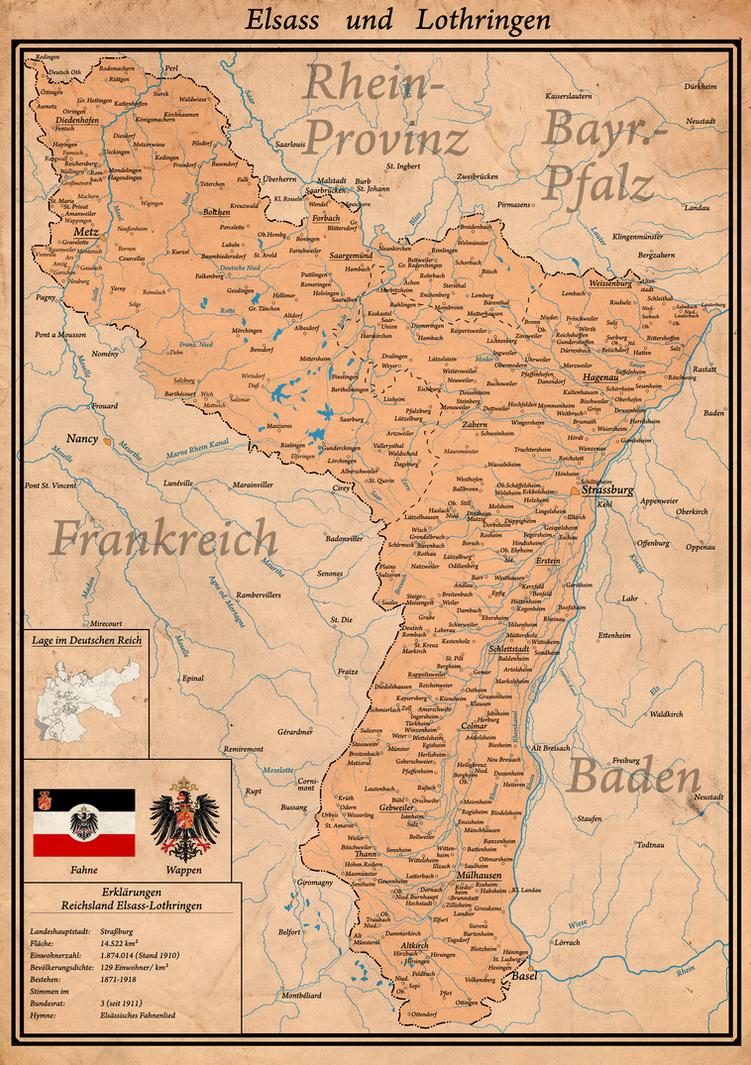 Elsass-Lothringen by Arminius1871 on DeviantArt