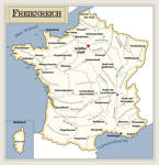 France with german names