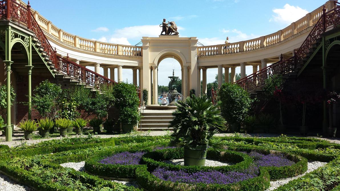 Schwerin Castle Garden By Arminius