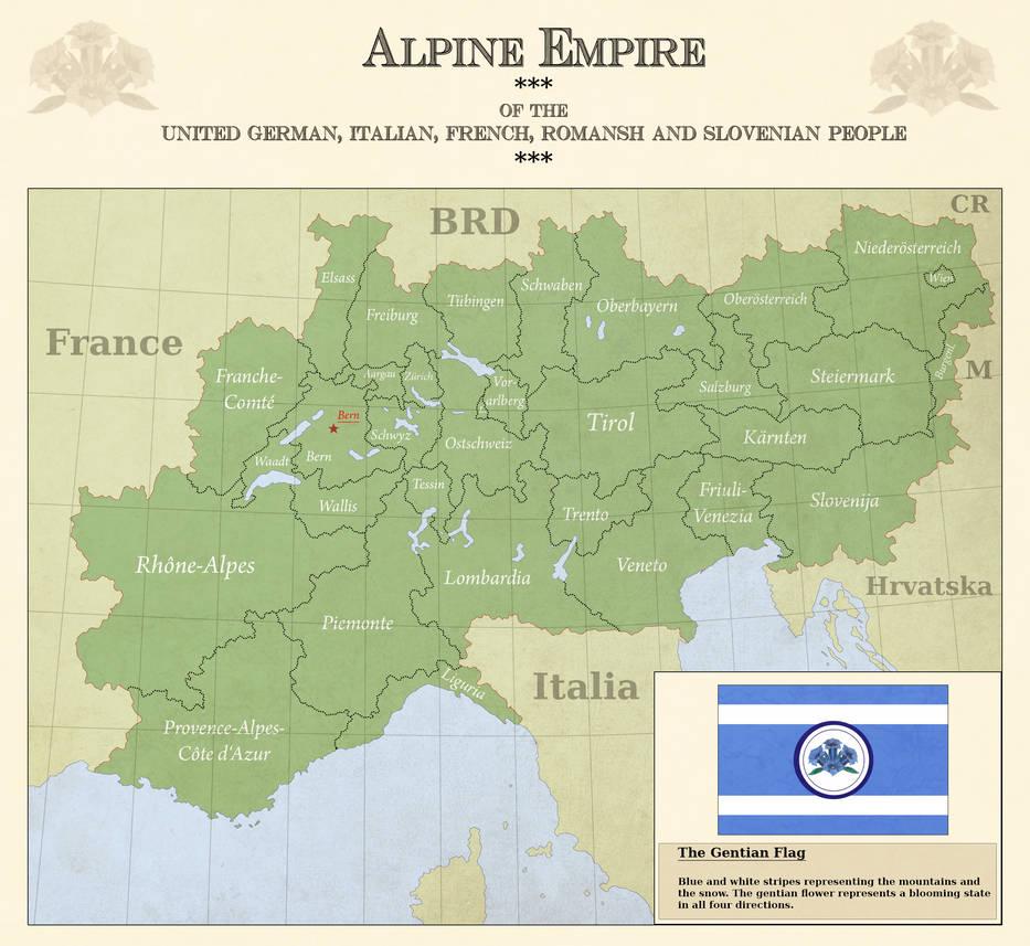 Alpine Empire By Arminius1871 On DeviantArt