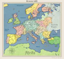 HRE Europe by Arminius1871