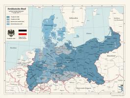 Alternate North German Confederation by Arminius1871