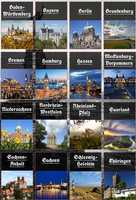 Modern german states collage by Arminius1871