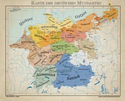 German language area 1900 by Arminius1871