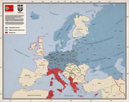Greater Germanic Empire by Arminius1871