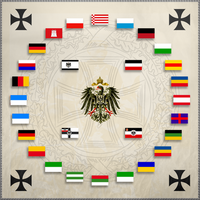 German Empire flag circle by Arminius1871