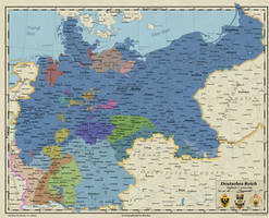 German Empire with Northern Bohemia by Arminius1871