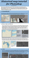 Historical Map Tutorial for Photoshop