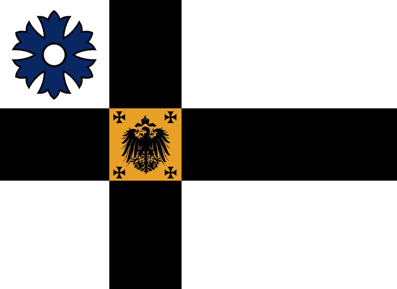 Alternate Ostland flag by Arminius1871