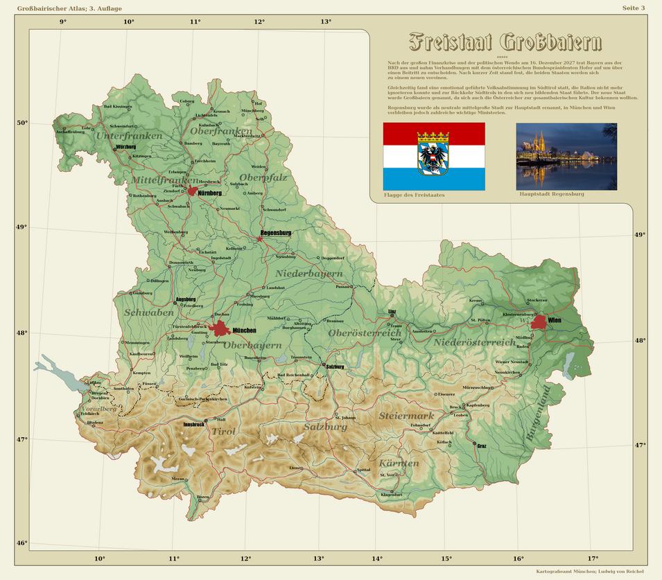 Greater Bavaria By Arminius1871 On DeviantArt