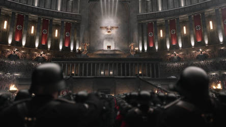 The man in the high castle -Great Hall interior-