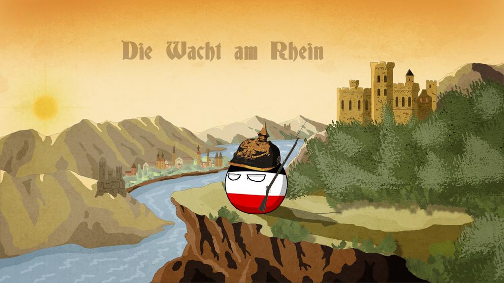 Die Wacht am Rhein Ball by Arminius1871