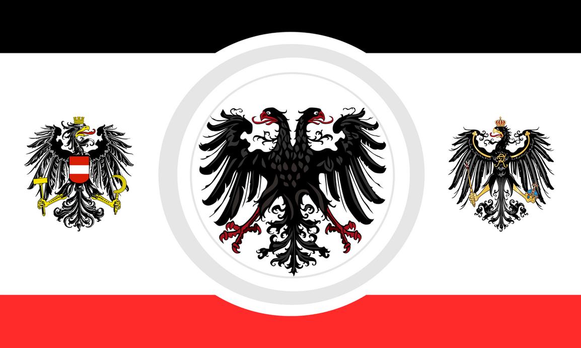 Greater german flag idea by Arminius1871