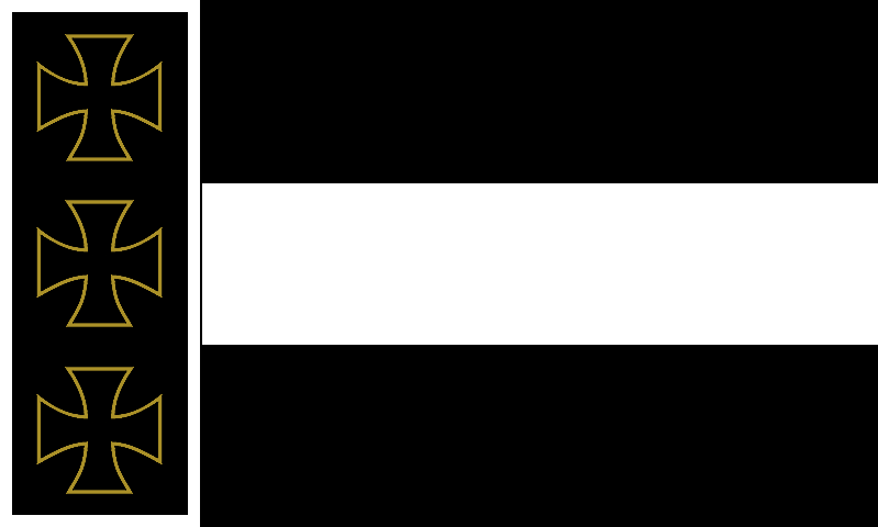 Alternate prussian flag by Arminius1871