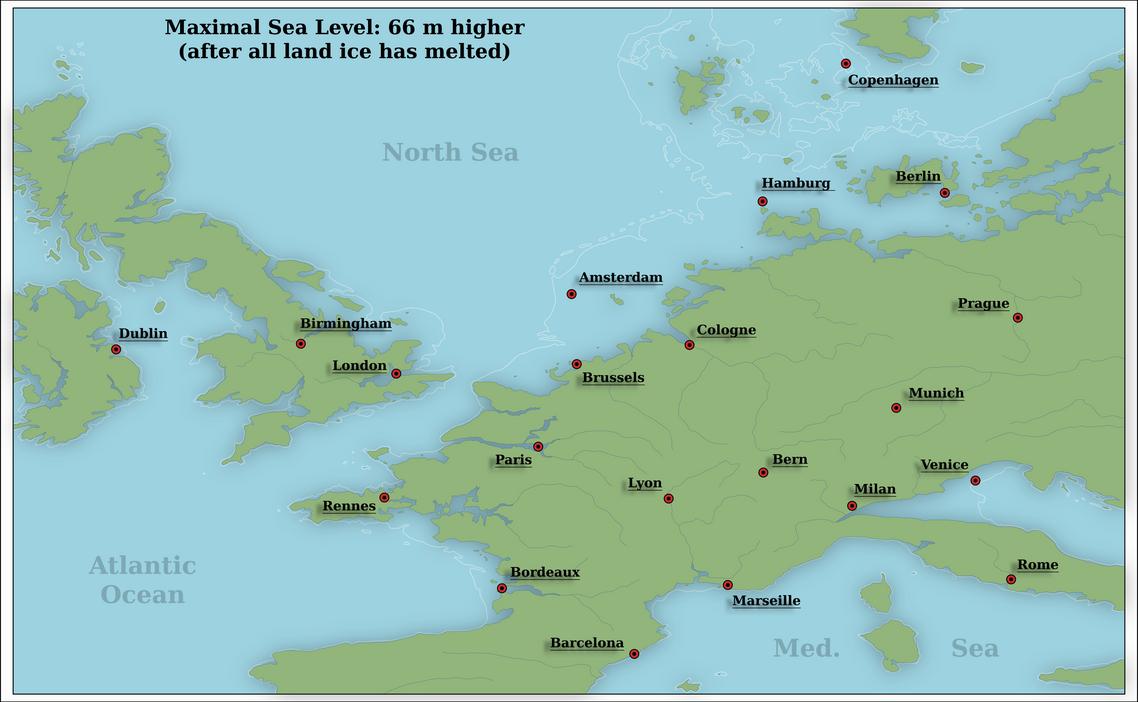 higher sea level in europe by arminius1871