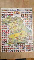 Bavaria map with CoAs