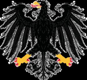 German Eagle stock