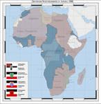 German colonies in Africa 1922 (alternate history)
