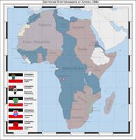 German colonies in Africa 1944 (alternate history) by Arminius1871