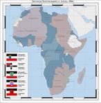 German colonies in Africa 1944 (alternate history)