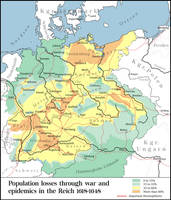 Population loss in the 30 years war by Arminius1871