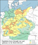 Population loss in the 30 years war