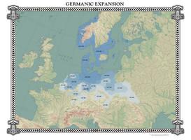 Germanic Expansion by Arminius1871