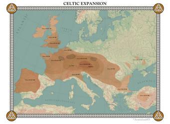 Celtic Expansion by Arminius1871