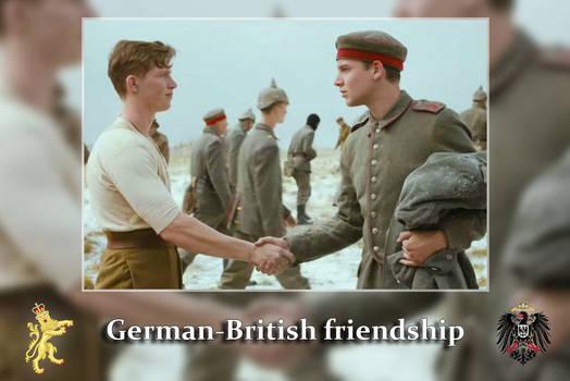 German-British friendship