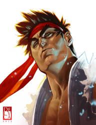 Ryu by Street Fighter by antoniodeluca