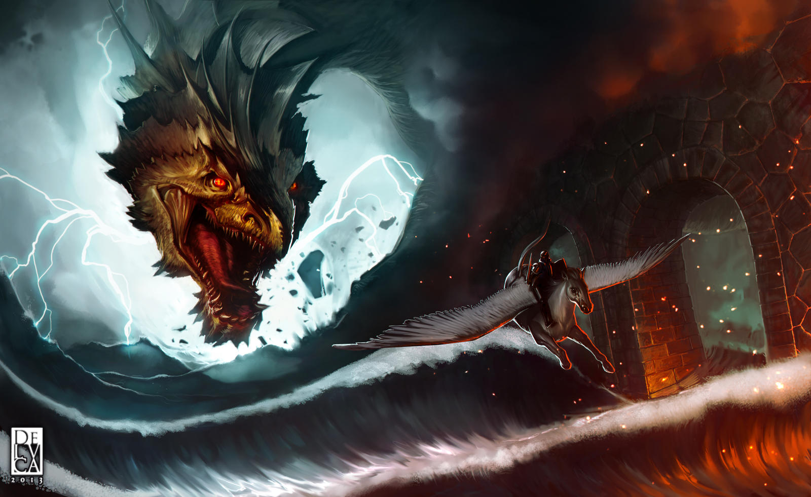 Escape from the Dragon by antoniodeluca