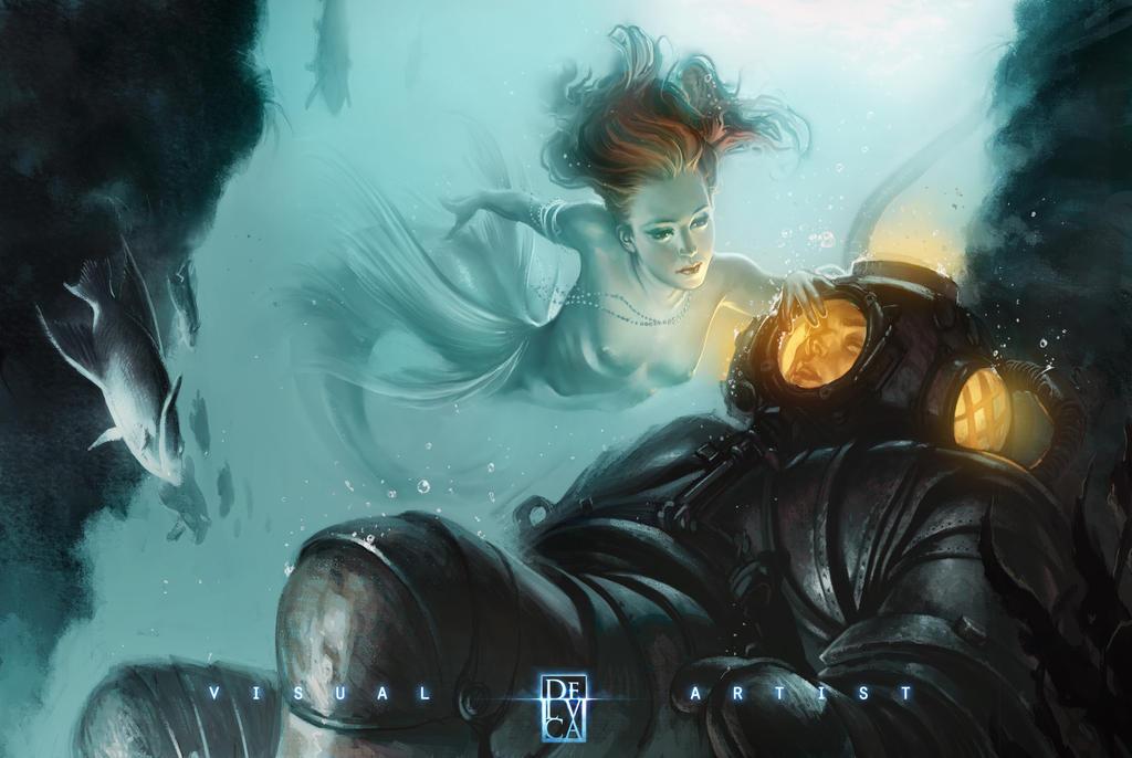 In the deep by antoniodeluca
