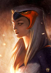 SORCERESS - Masters of the Universe by antoniodeluca